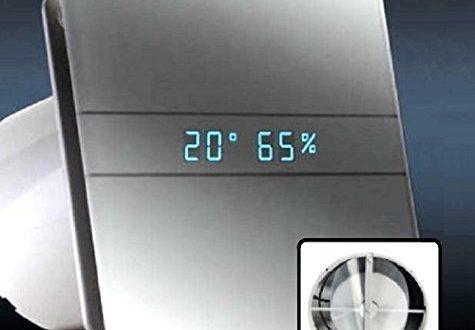 AllCATA 00900200 EN 100 Hygro Weiss Matt Echtes Glasfront Ventilator 475x330 - AllCATA 00900200 EN 100 Hygro Weiß Matt Echtes Glasfront Ventilator Badlüfter Timer Nachlauf Hygrostat Feuchtigkeit Sensor LED Display Glasfront 115 m3/hh V2 Generation (mit Rückschlagventil)
