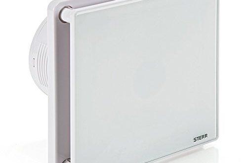 STERR Badezimmerluefter mit Glasfront und Timer BFS100T 500x330 - STERR - Badezimmerlüfter mit Glasfront und Timer - BFS100T