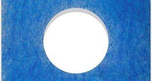 10 Filter fuer Limodor Limot LFELF Badluefter 226 x 310x165 - 10 Filter für Limodor Limot LF/ELF Badlüfter - 226 x 226 mm, Ø 95 mm, Filterklasse G4, 18mm - Alle F/C Limodor-Typ F-LF/5 00010 LIG Lüftungsanlage - Luftfilter und Staubfilter für Badentlüftung