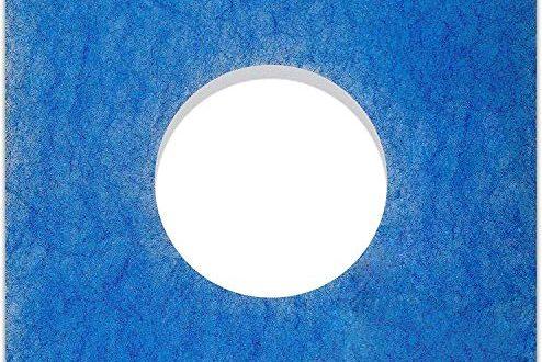 10 Filter fuer Limodor Limot LFELF Badluefter 226 x 494x330 - 10 Filter für Limodor Limot LF/ELF Badlüfter - 226 x 226 mm, Ø 95 mm, Filterklasse G4, 18mm - Alle F/C Limodor-Typ F-LF/5 00010 LIG Lüftungsanlage - Luftfilter und Staubfilter für Badentlüftung